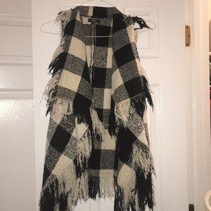 Knit Sweater Sleeveless Cardigan